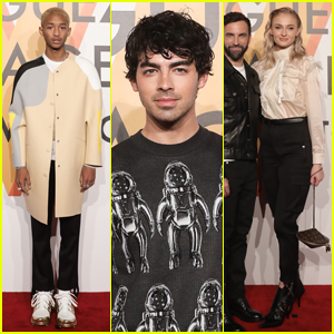 Jaden Smith, Joe Jonas & Sophie Turner Celebrate Louis Vuitton at Shanghai Exhibit!