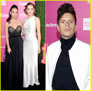 Maia Mitchell Glams Up For ALMA Awards 2018 with Rudy Mancuso