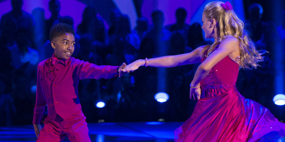 Miles Brown Whirls Rylee Arnold Around On The Dance Floor on 'DWTS Juniors' – Watch Here!
