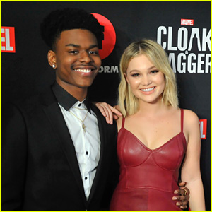 Olivia Holt Shares The Cutest Birthday Message For 'Cloak & Dagger' Co-Star Aubrey Joseph