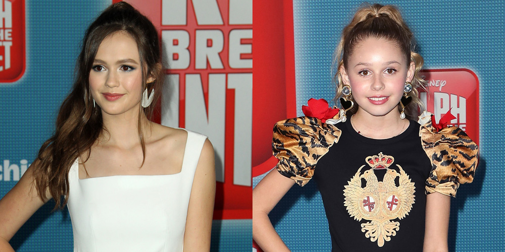 Olivia Sanabia Joins 'Coop & Cami' Co-stars At 'Ralph Breaks The Internet' Premiere