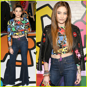 Paris Jackson Helps Launch 'Keith Haring x alice + olivia' Collection!
