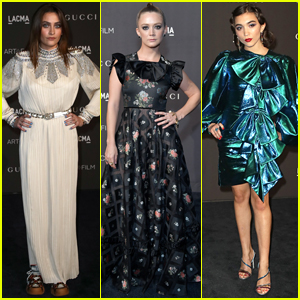 Paris Jackson Joins Billie Lourd & Rowan Blanchard at LACMA Gala 2018!