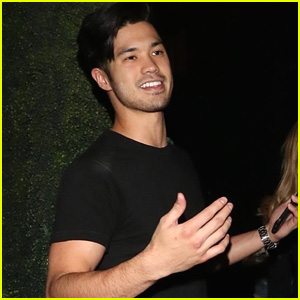 Ross Butler Heads Out To Dinner After Steve Aoki & BTS's 'Waste It On Me' Video Appearance