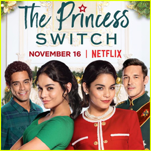 Vanessa Hudgens Plays Two Roles in 'The Princess Switch' Trailer - Watch!