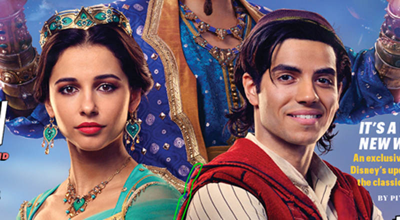 Movie Poster 2019: Naomi Scott Opens Up About Playing Jasmine In Disney's