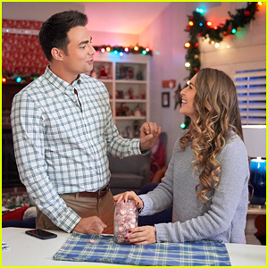 Alexa PenaVega Gives Jonathan Bennett a Holiday Makeover in 'Christmas Made To Order' Movie!