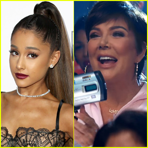 Ariana Grande's Music Video Mom Kris Jenner Can't Stop Saying 'Thank U, Next'