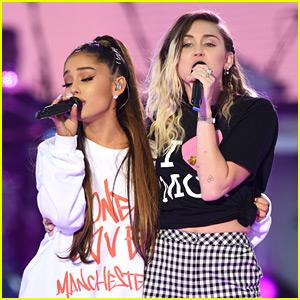 Ariana Grande & Miley Cyrus Have Had Enough of Kanye West & Drake's Feud!