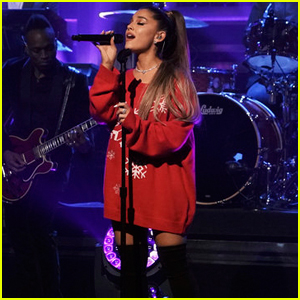 Ariana Grande Sings 'Imagine' on 'Tonight Show' - Watch Now!