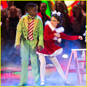 Ariana Greenblatt Becomes Cindy Lou Who For Christmas Freestyle on 'DWTS Juniors' Finale - Watch Now!