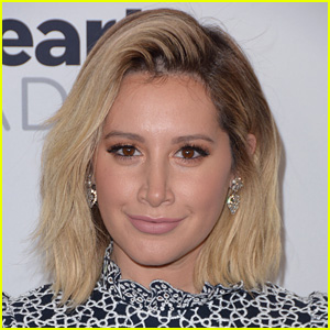 Ashley Tisdale Shows Off Pink Christmas Tree - And Pink Hair!