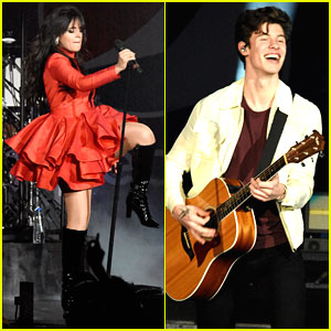 Besties Camila Cabello & Shawn Mendes Take Over the B96 Jingle Bash