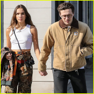Brooklyn Beckham & Girlfriend Hana Cross Get Some Holiday Shopping Done!