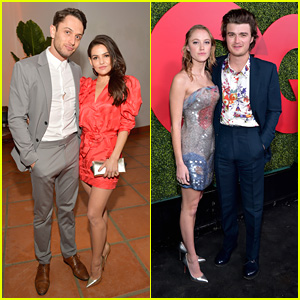 Danielle Campbell & Colin Woodell Couple Up For GQ's Men of the Year Party