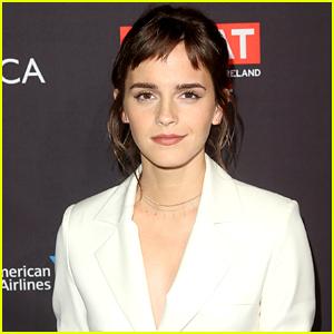 Emma Watson Posts Photo From the Set of 'Little Women'!