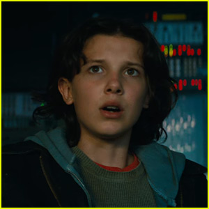 Millie Bobby Brown Stars in Trailer for New 'Godzilla' Movie!
