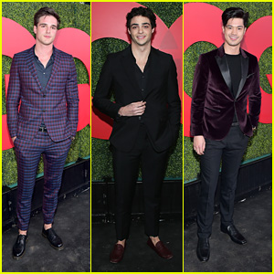 Noah Centineo & Jacob Elordi Hit Us With A Ton of Hotness at GQ Men of the Year Party