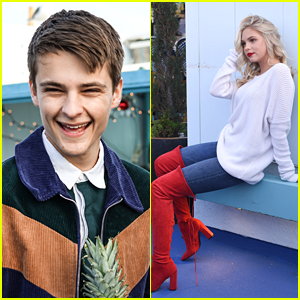 Jordyn Jones & Corey Fogelmanis Celebrate A Succesful Year With Holiday Brunch in Santa Monica