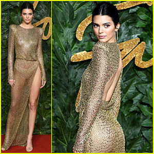 Kendall Jenner Leaves Nothing to the Imagination at The Fashion Awards 2018
