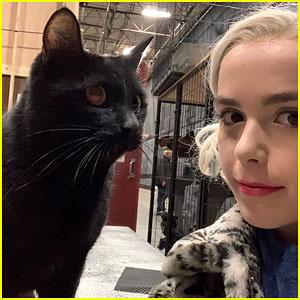 Kiernan Shipka Wraps Filming for 'Chilling Adventures of Sabrina!'