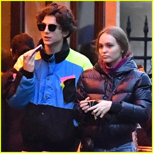 Lily-Rose Depp Steps Out with Boyfriend Timothee Chalamet in Paris!