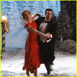Lindsey Stirling Dances Around With Mark Ballas in Dreamy 'Warmer in the Winter' Music Video - Watch Now!