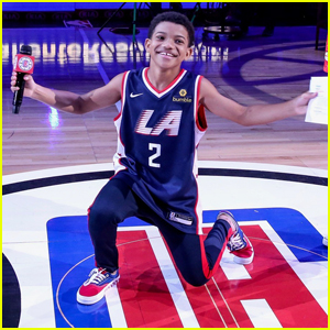 Lonnie Chavis Shows Off His Dancing Skills at the L.A. Clippers Game!