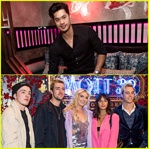 Ross Butler & R5 Team Up for Mott 32 Grand Opening in Las Vegas