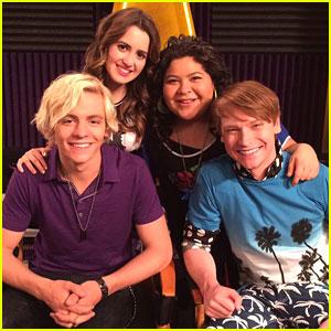 Ross Lynch, Laura Marano & Raini Rodriguez Remember 'Austin & Ally' On It's 7 Year Anniversary