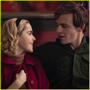 Kiernan Shipka & Ross Lynch Tease Sabrina & Harvey's Relationship In 'CAOS' Holiday Episode