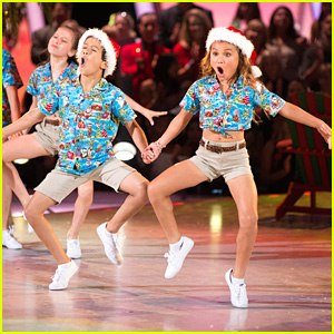 Sky Brown & JT Church Take Us To The Beach For Christmas on 'DWTS Juniors' Finale - Watch Now!