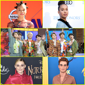 Meg Donnelly, BTS, Storm Reid & More Are JJJ's Breakout Style Stars of 2018!