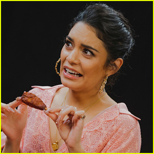 Vanessa Hudgens Struggles Through the 'Hot Ones' Wing Challenge - Watch!