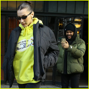 The Weeknd Documents His Day With Bella Hadid!