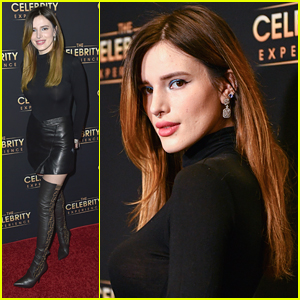 Bella Thorne Steps Out For The Celebrity Experience Event in LA