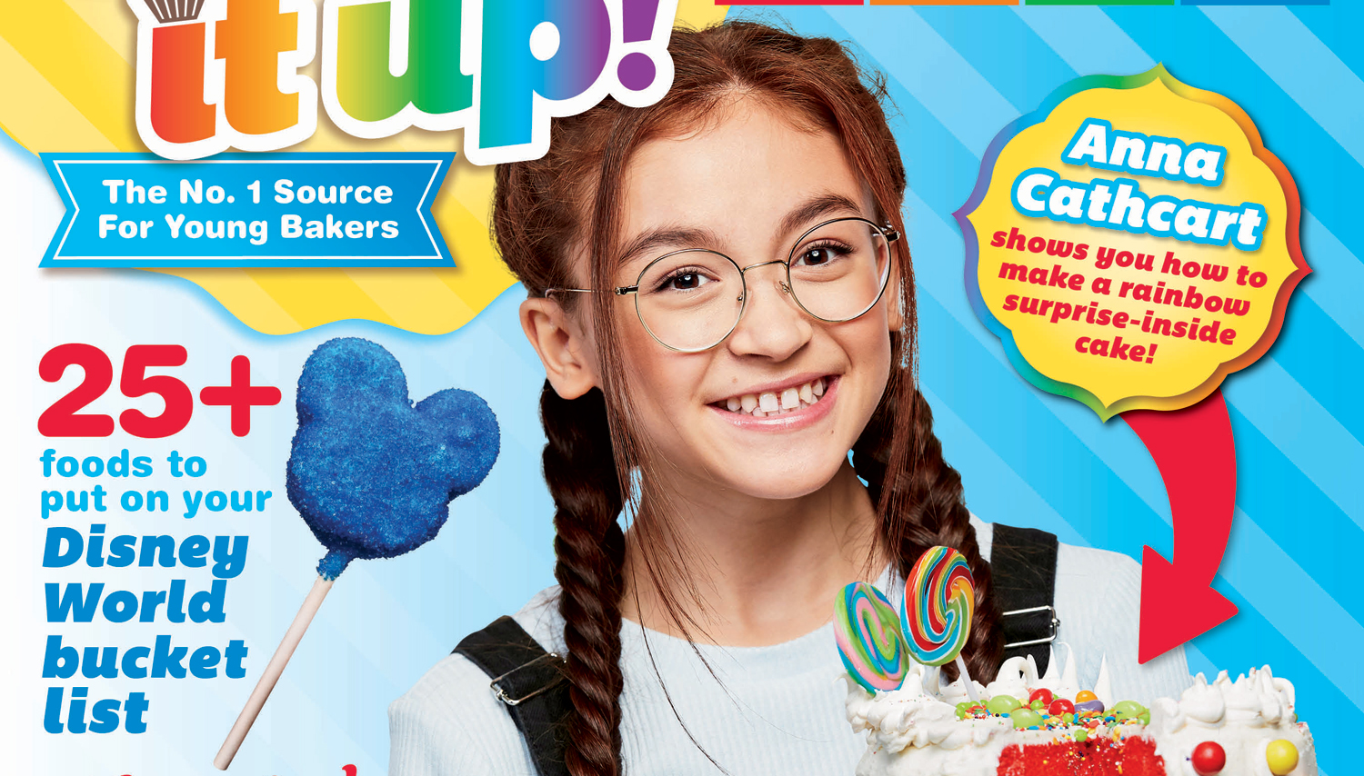 Anna Cathcart Bakes It Up on Her First Magazine Cover! (Exclusive
