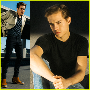 Cole Sprouse Photographs Brother Dylan Sprouse For J Brand's New Fashion Campaign