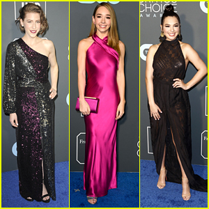 Eden Sher Joins Holly Taylor & Isabella Gomez at Critics' Choice Awards 2019