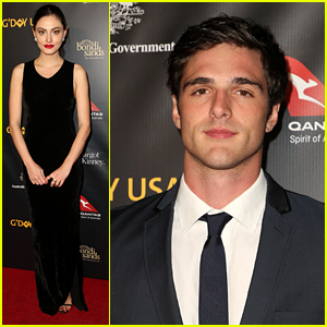 Jacob Elordi & Phoebe Tonkin Honor Fellow Aussies at G'Day USA Gala 2019