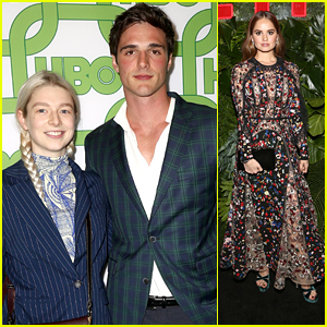 Jacob Elordi Attends Golden Globes After Party With 'Euphoria' Co-Star Hunter Schafer