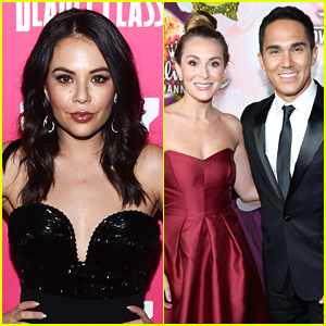 Janel Parrish, Carlos & Alexa PenaVega Start Filming on 'Mighty Oak'