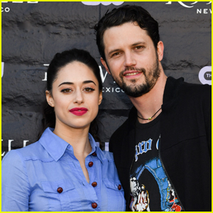 Jeanine Mason & Nathan Parsons Buddy Up at 'Roswell, New Mexico' Premiere!