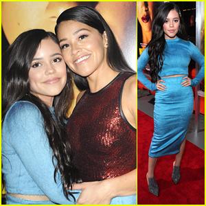 'Lil Jane' Jenna Ortega Supports Gina Rodriguez at 'Miss Bala' Premiere