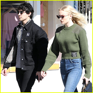 Joe Jonas & Sophie Turner Go Shopping for a New Home!