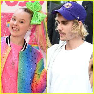 Justin Bieber Jokingly Reignites 'Feud' With JoJo Siwa; She Responds