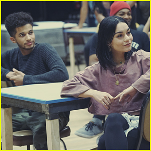 Jordan Fisher Thinks This Vanessa Hudgens Moment From 'Rent Live' Will Be The Most Tweeted About