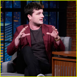 Josh Hutcherson Promotes New Season of 'Future Man' on 'Late Night' - Watch Here!