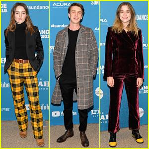 Kaitlyn Dever, Thomas Mann & Alice Englert Premiere 'Them That Follow' at Sundance Film Festival 2019