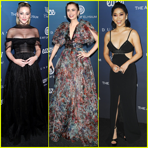 Lili Reinhart, Lily Collins & Lana Condor Are So Stylish at Art of Elysium Party